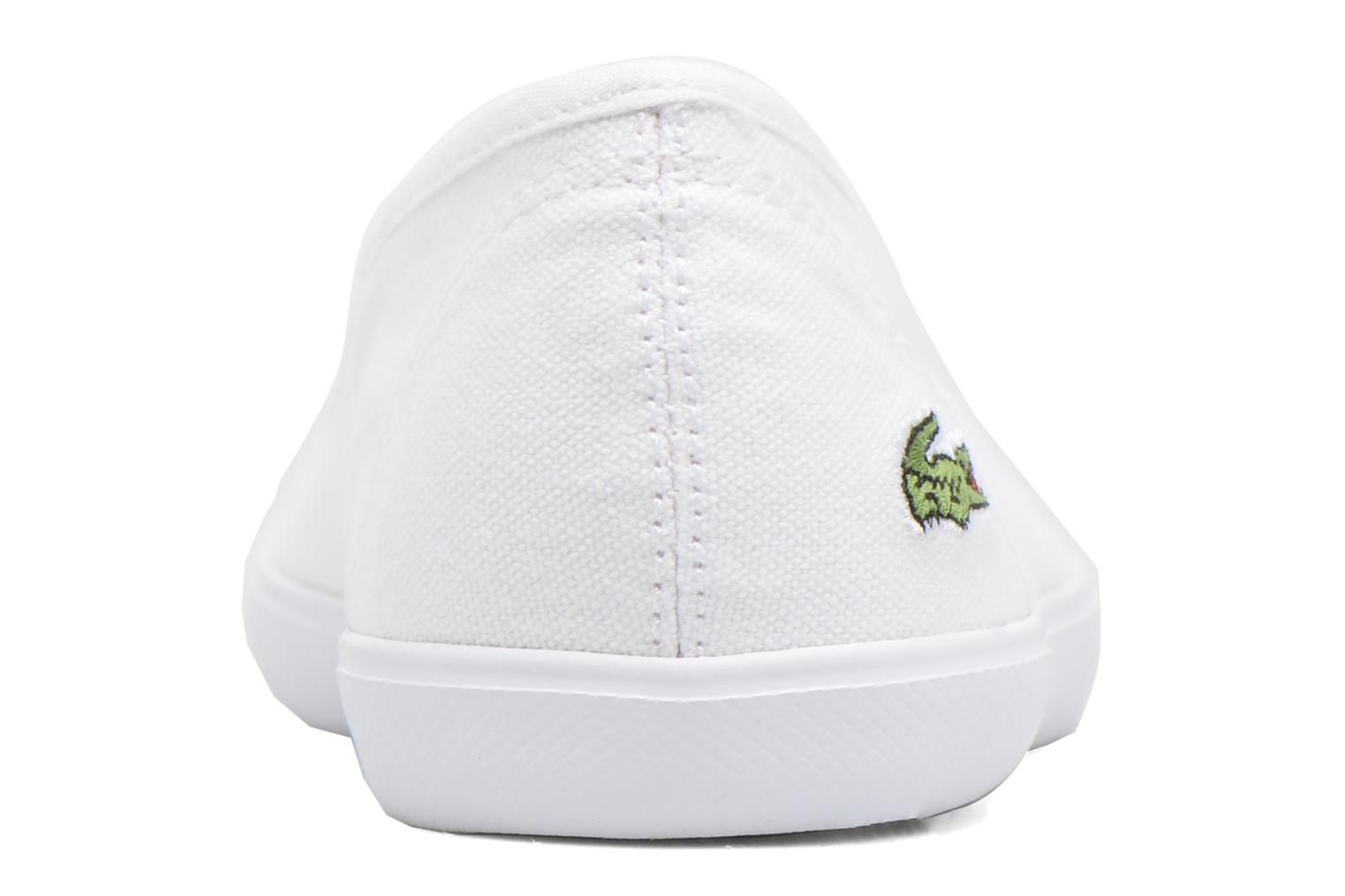 Ballet pumps Lacoste Marthe Bl 1 White view from the right