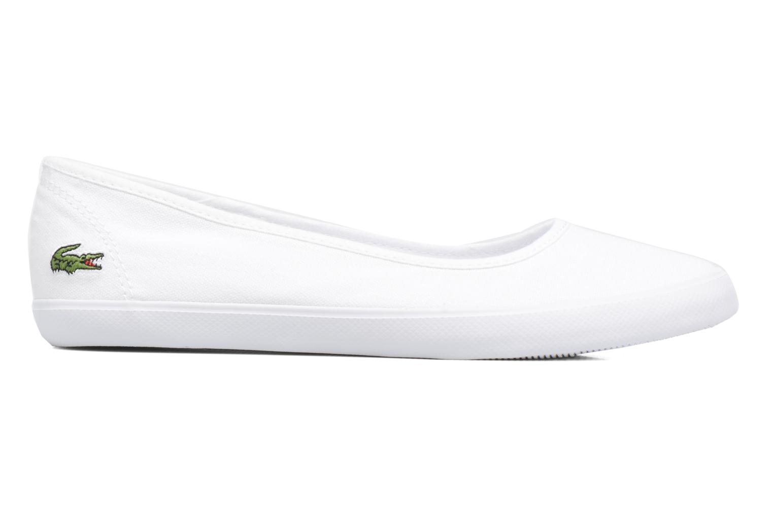 Ballet pumps Lacoste Marthe Bl 1 White back view