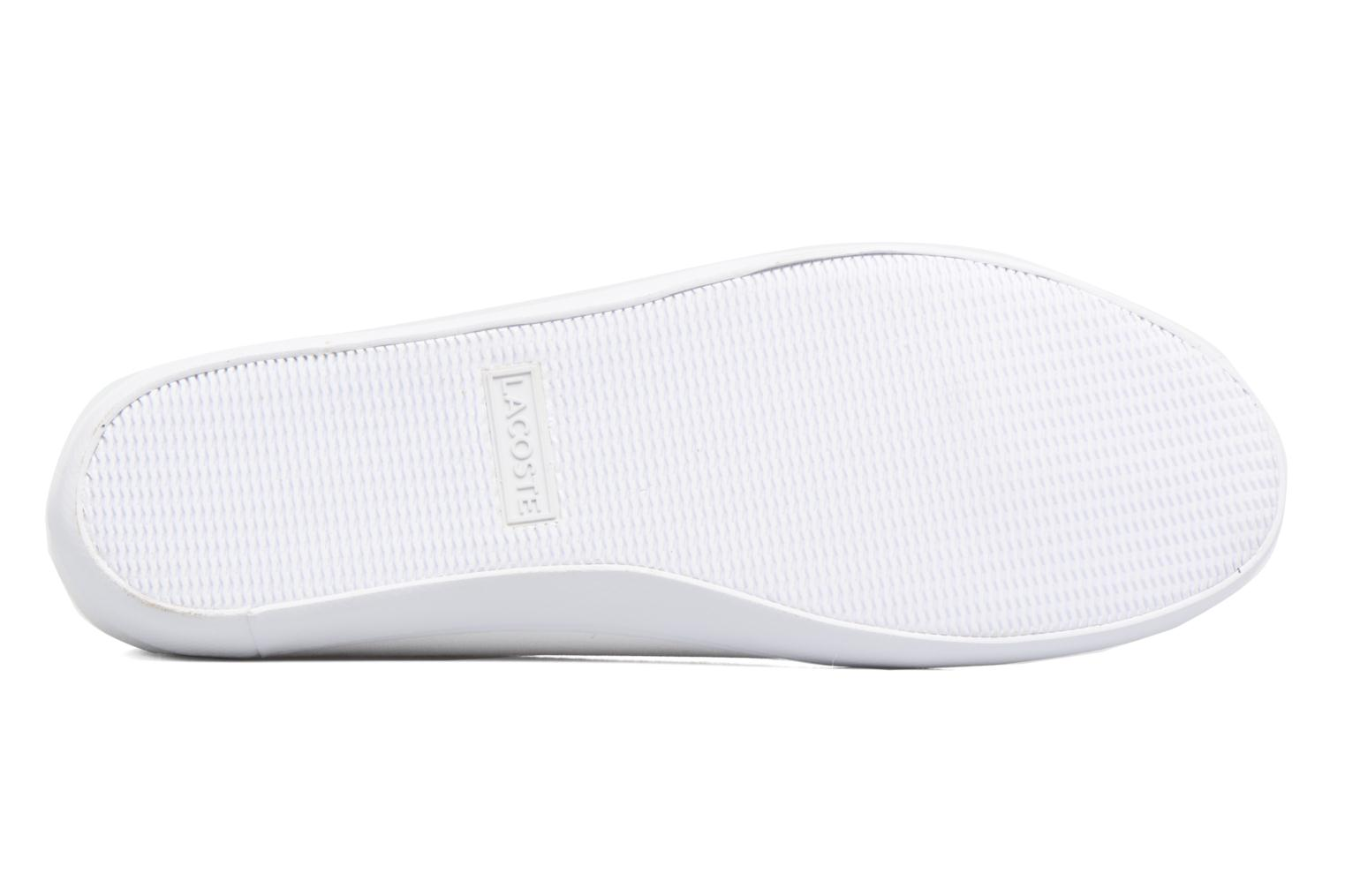 Ballet pumps Lacoste Marthe Bl 1 White view from above