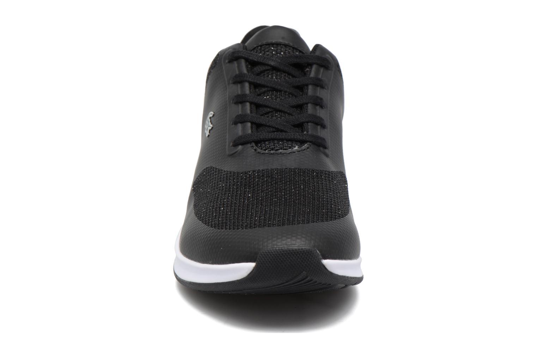 Baskets Lacoste Chaumont Lace 117 1 Noir vue portées chaussures