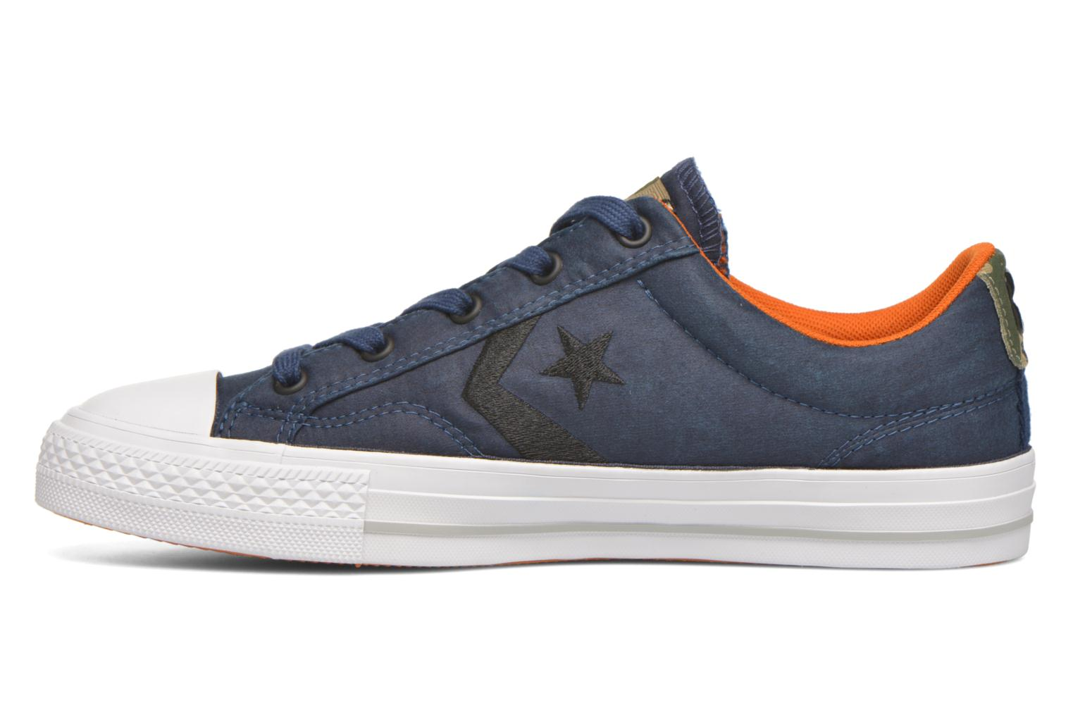 Baskets Converse Star Player Ox W Bleu vue face