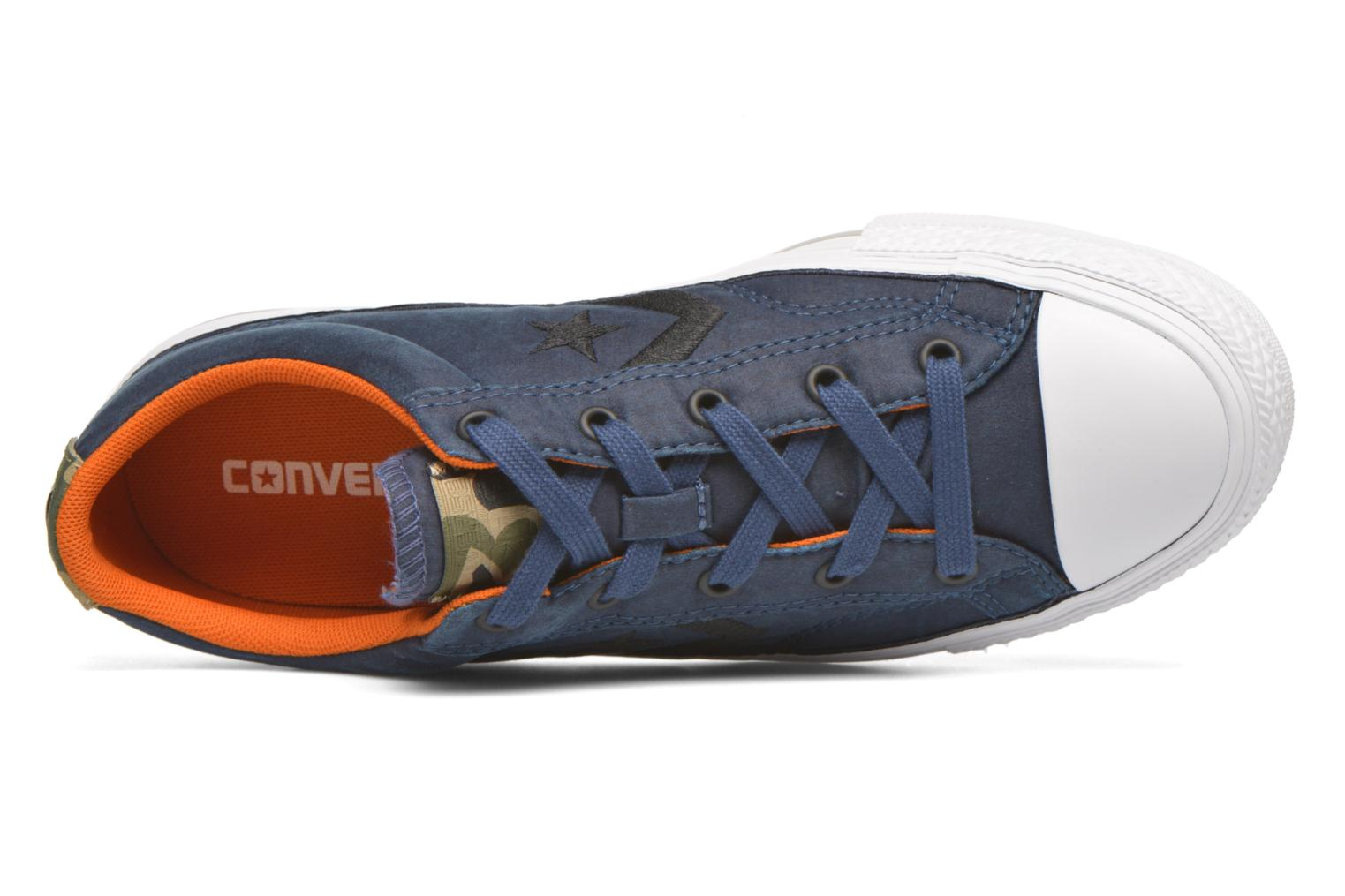 Baskets Converse Star Player Ox W Bleu vue gauche