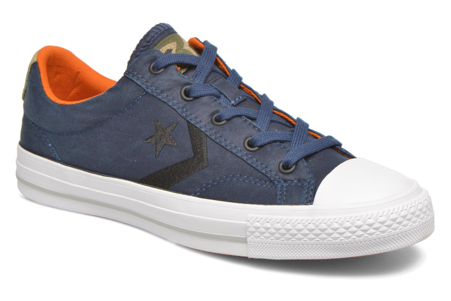 Baskets Converse Star Player Ox W Bleu vue détail/paire