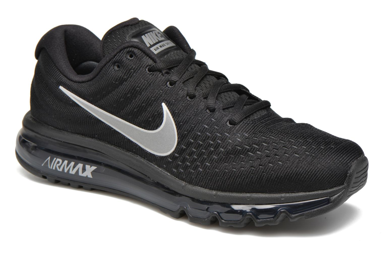 Sportssko Nike Nike Air Max 2017 Sort detaljeret billede af skoene