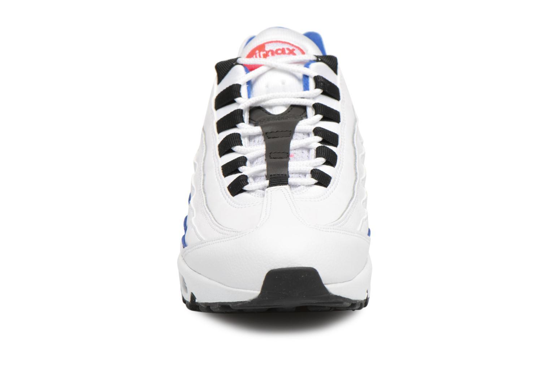 Nike Air Max 95 Essential White/Black-Solar Red-Ultramarine