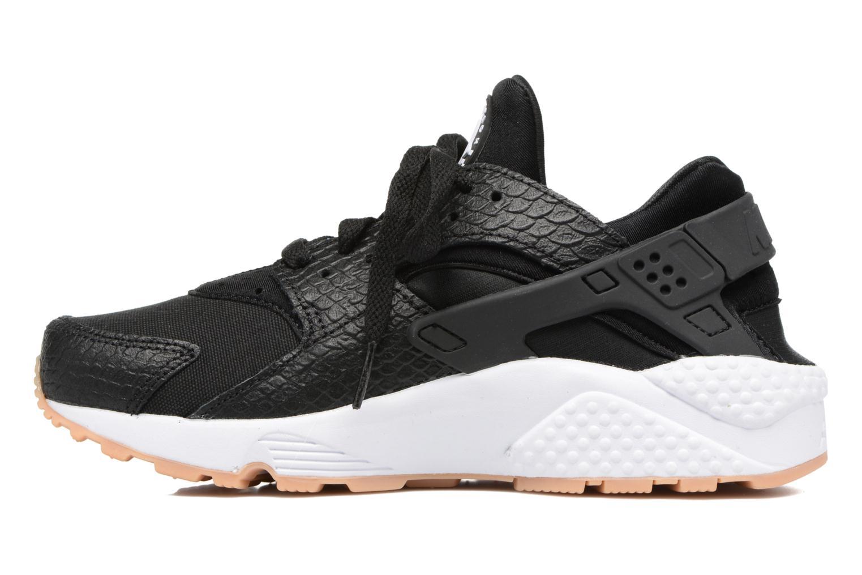 Sneaker Nike W Air Huarache Run Se schwarz ansicht von vorne