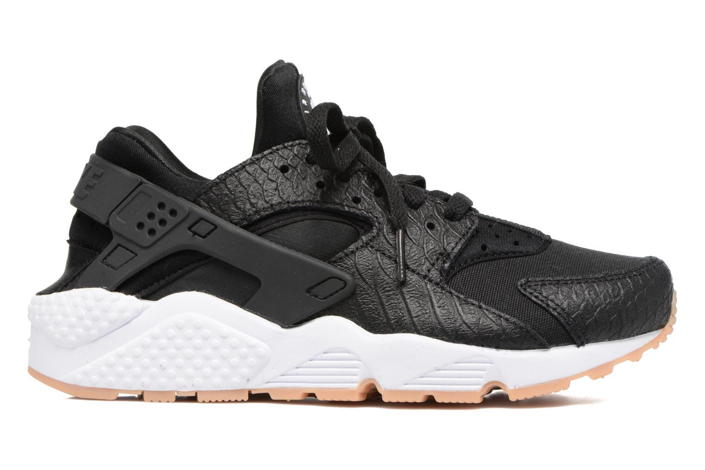 Sneaker Nike W Air Huarache Run Se schwarz ansicht von hinten