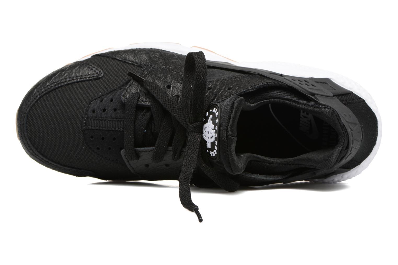 Deportivas Nike W Air Huarache Run Se Negro vista lateral izquierda