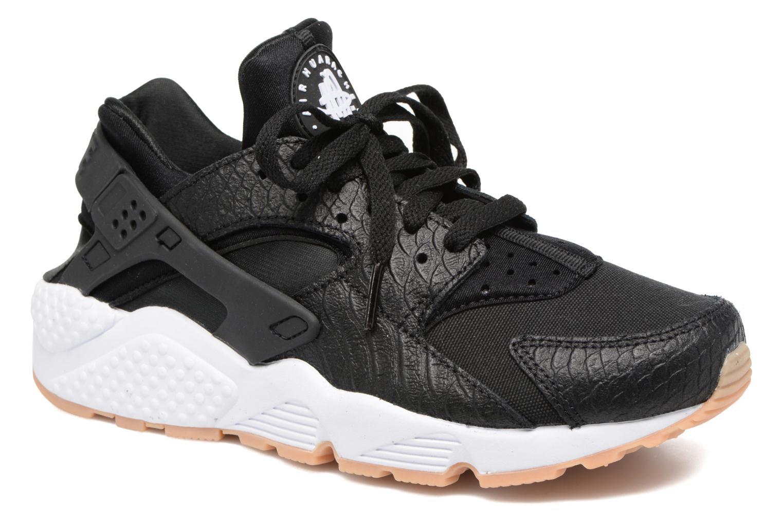 Deportivas Nike W Air Huarache Run Se Negro vista de detalle / par