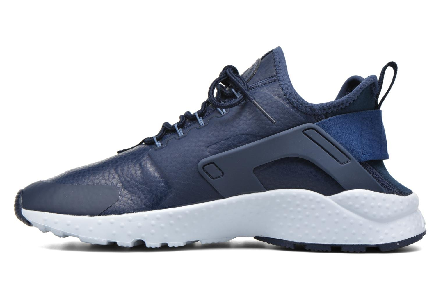 Baskets Nike W Air Huarache Run Ultra Prm Bleu vue face