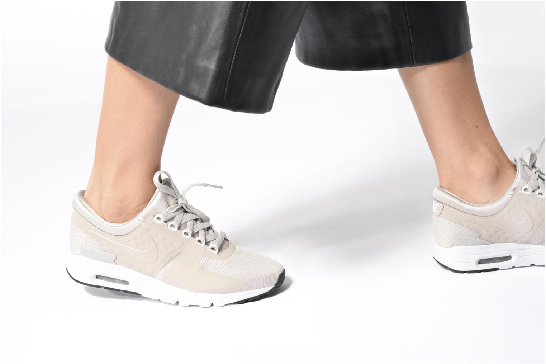 Baskets Nike W Air Max Zero Gris vue bas / vue portée sac