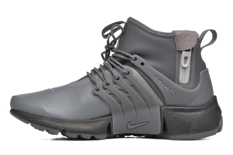 Sneakers Nike W Air Presto Mid Utility Grijs voorkant