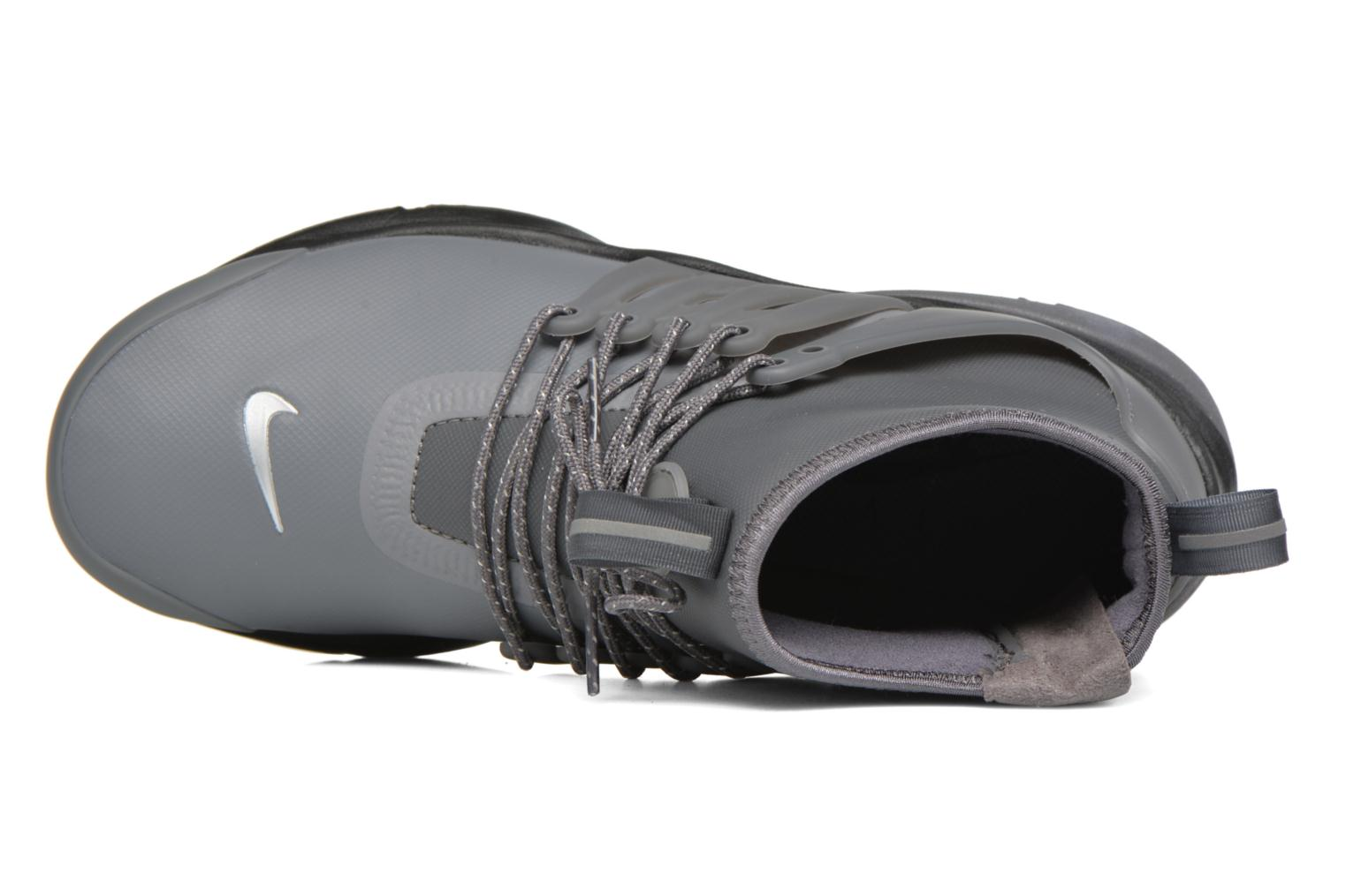 Trainers Nike W Air Presto Mid Utility Grey view from the left