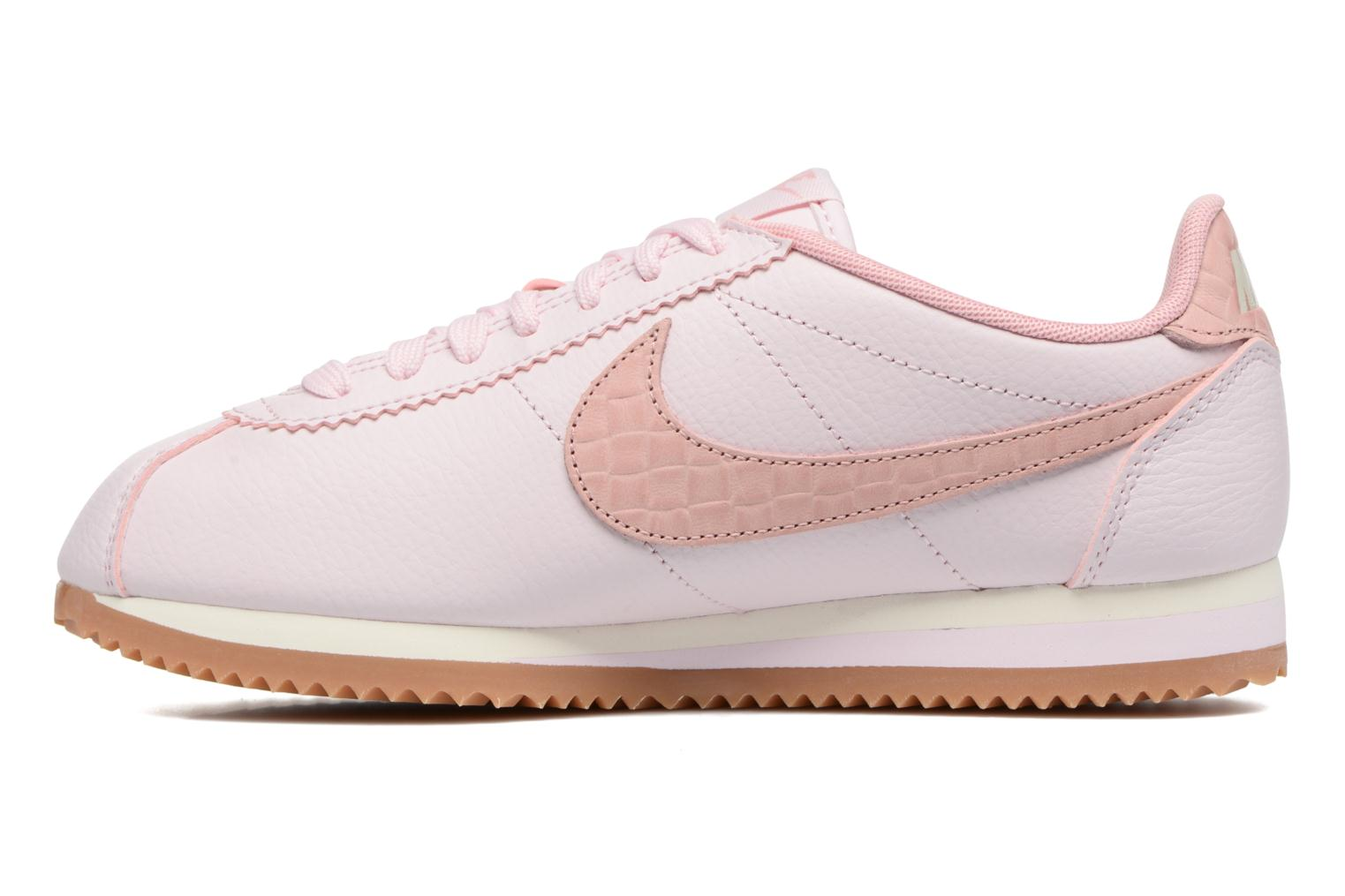 Baskets Nike W Classic Cortez Leather Lux Rose vue face