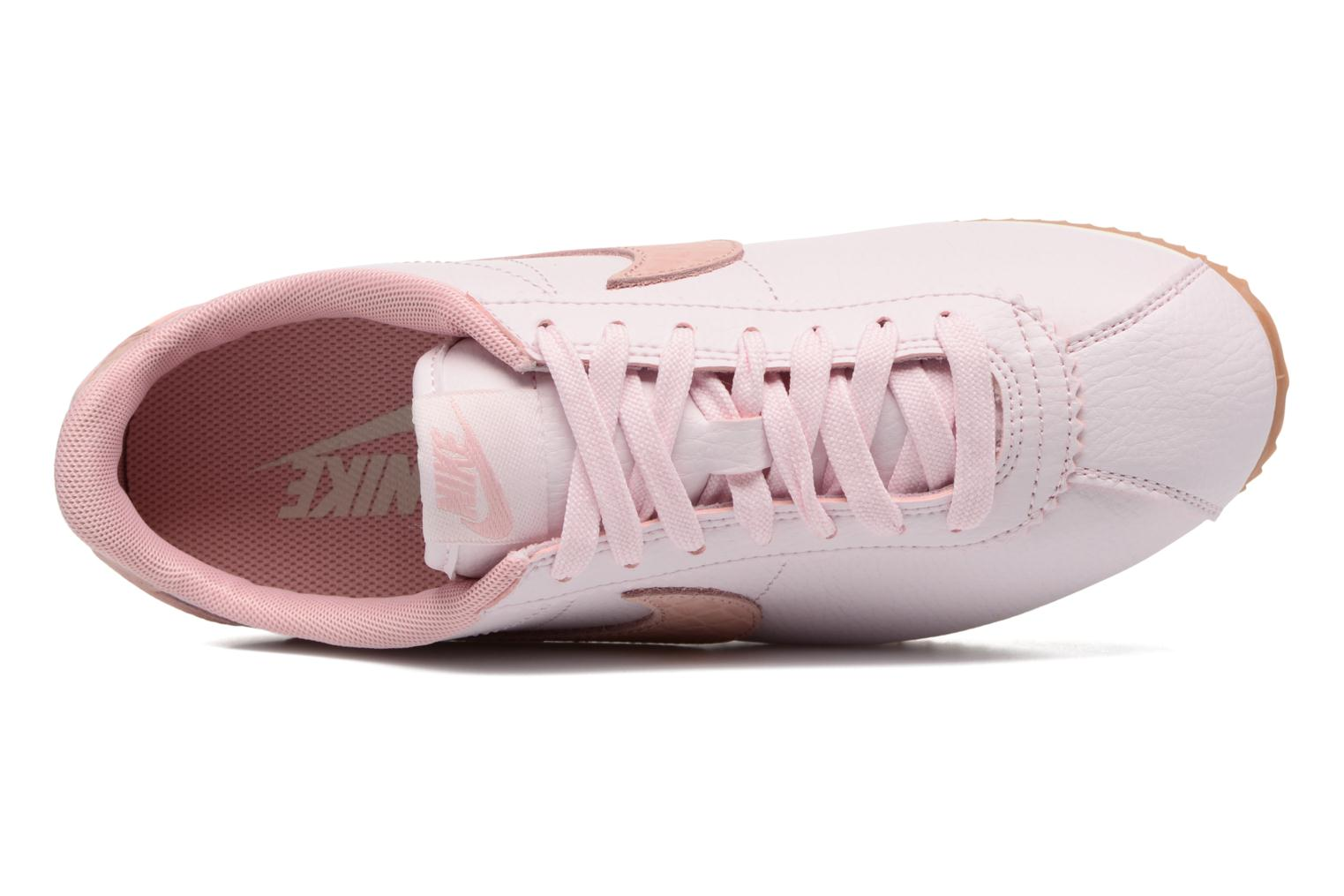 Baskets Nike W Classic Cortez Leather Lux Rose vue gauche