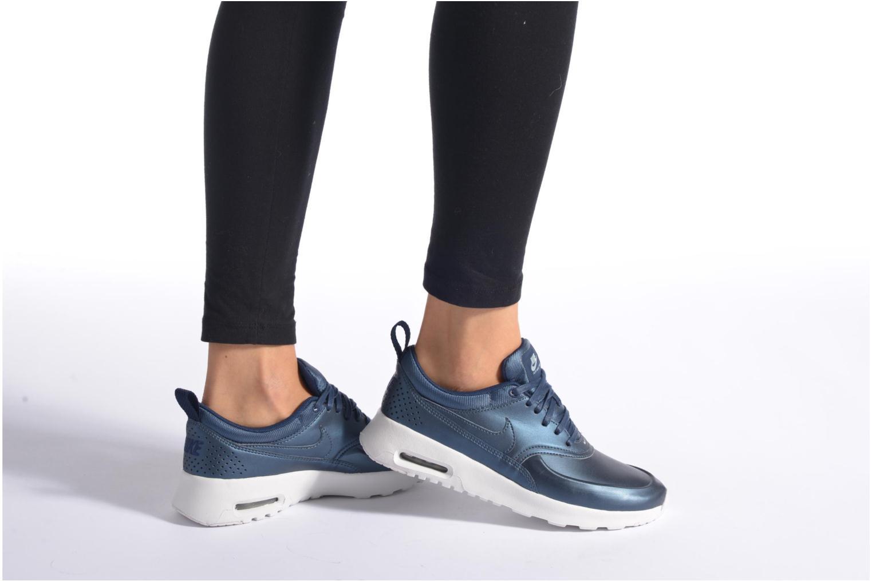 Sneaker Nike W Nike Air Max Thea Se silber ansicht von unten / tasche getragen