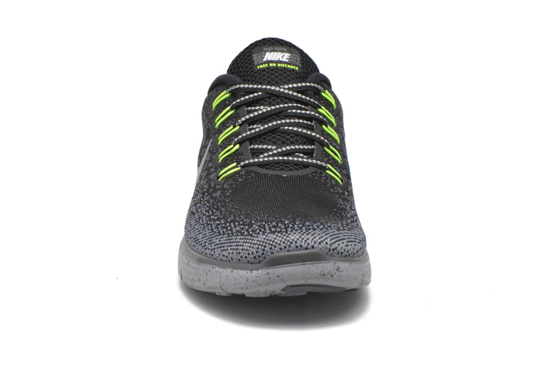 W Nike Free Rn Distance Shield Black/Metallic Silver-Dark Grey-Stealth