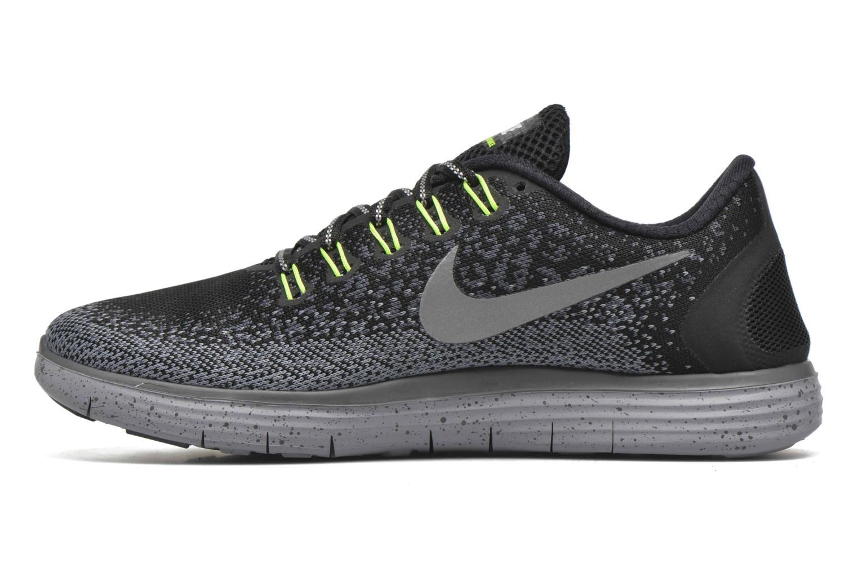 Chaussures de sport Nike W Nike Free Rn Distance Shield Multicolore vue face