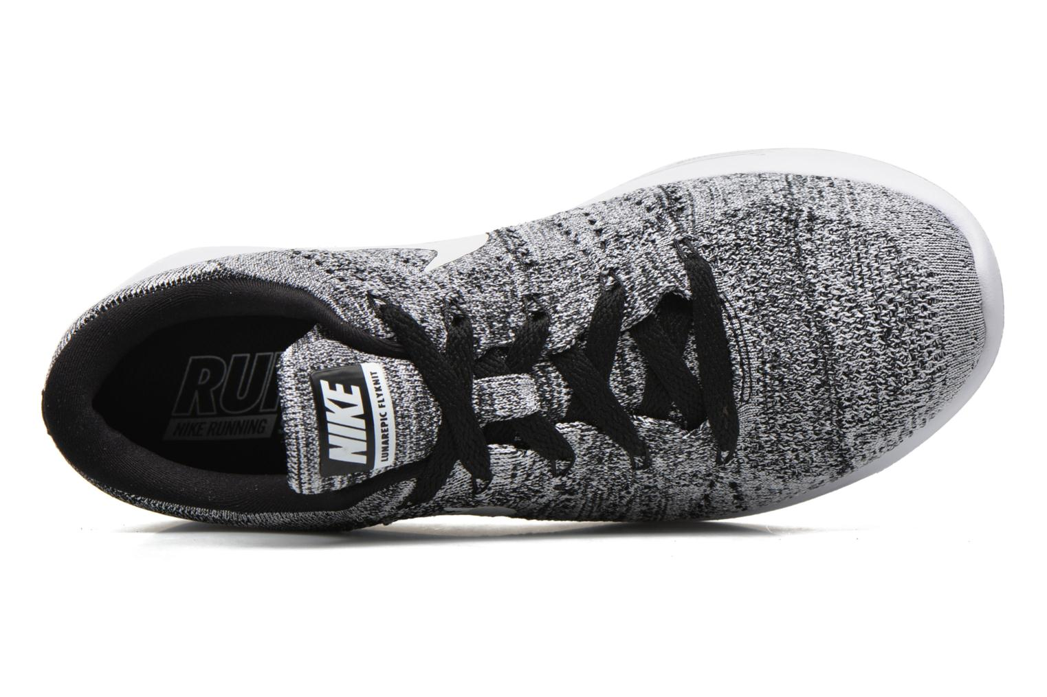 W Nike Lunarepic Low Flyknit Black/white