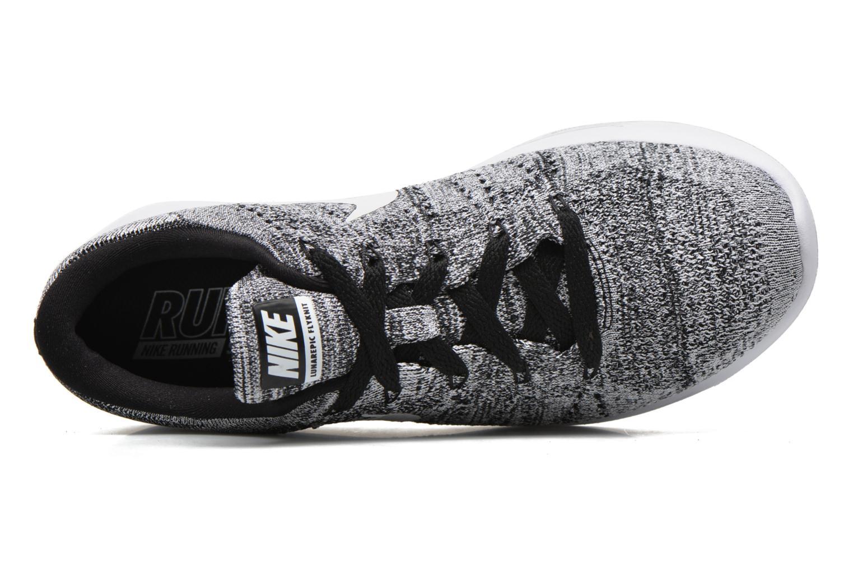 W Nike Lunarepic Low Flyknit Black/white