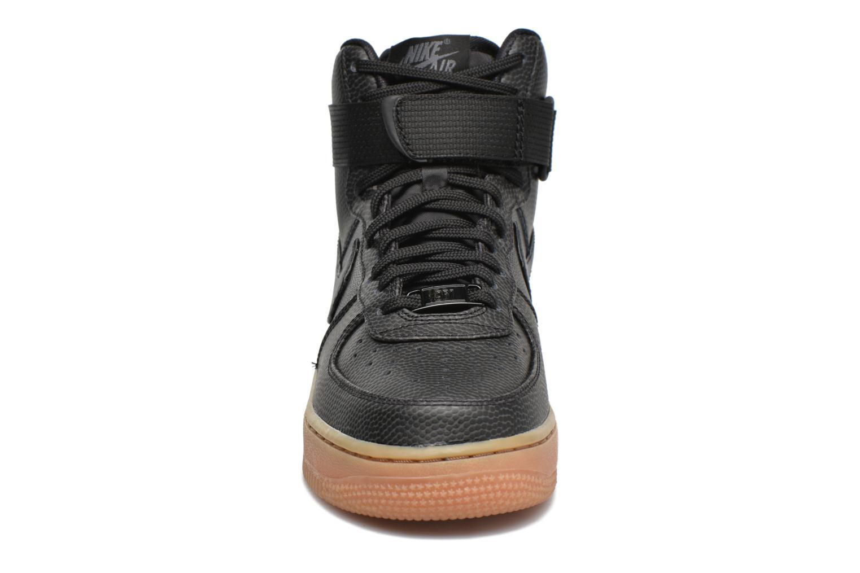 Wmns Air Force 1 Hi Se Black/Black-Dark Grey-Gum Med Brown