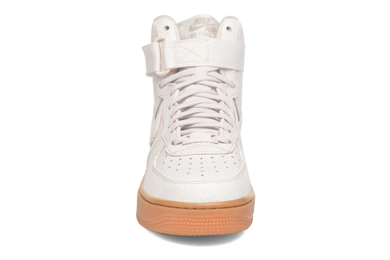 Trainers Nike Wmns Air Force 1 Hi Se Black model view