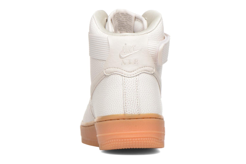 Sneakers Nike Wmns Air Force 1 Hi Se Zwart rechts