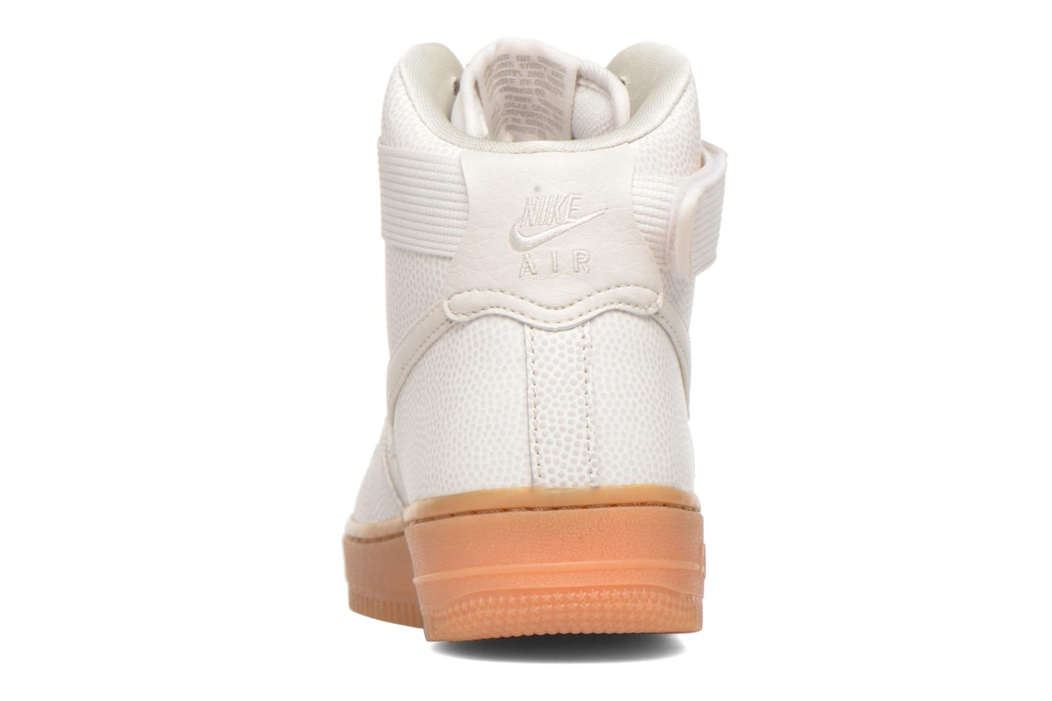 Sneakers Nike Wmns Air Force 1 Hi Se Zwart rechts