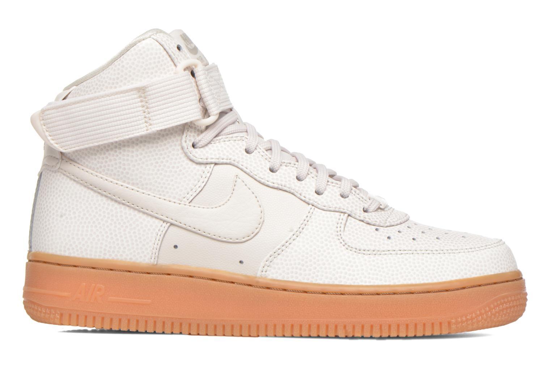 Sneakers Nike Wmns Air Force 1 Hi Se Zwart achterkant