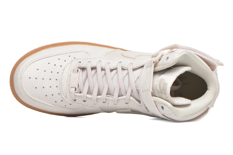 Sneakers Nike Wmns Air Force 1 Hi Se Zwart links