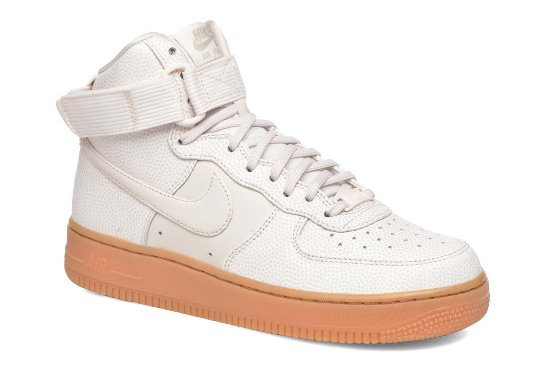 Sneakers Nike Wmns Air Force 1 Hi Se Zwart detail