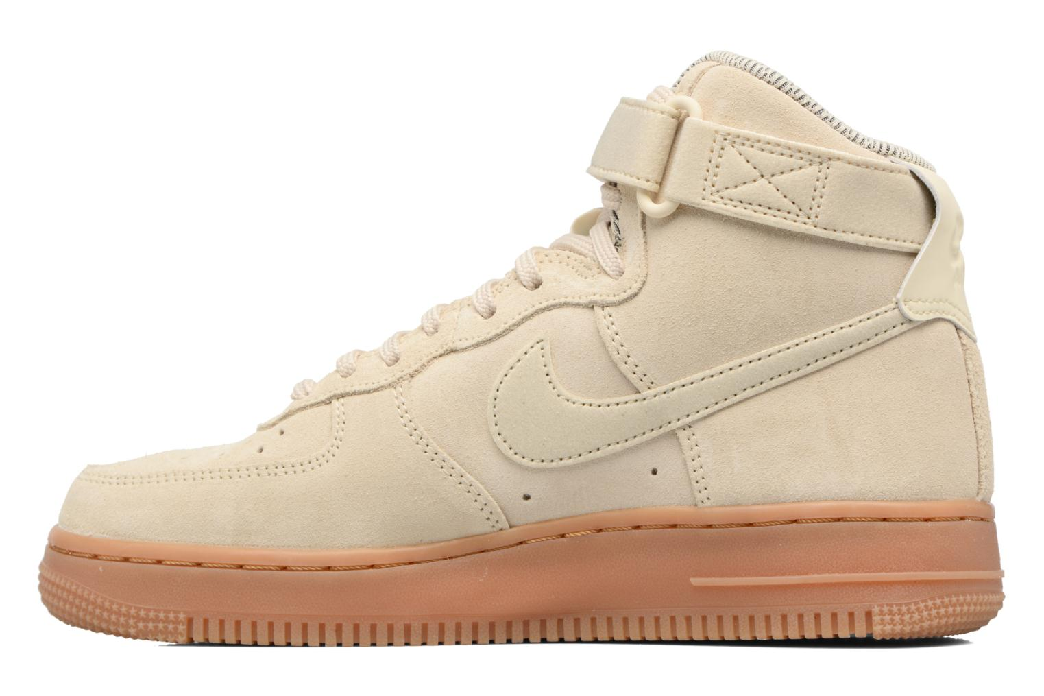 Wmns Air Force 1 Hi Se Muslin/Muslin-Gum Med Brown-Ivory