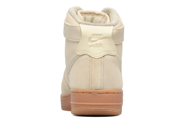 Sneaker Nike Wmns Air Force 1 Hi Se weiß ansicht von rechts