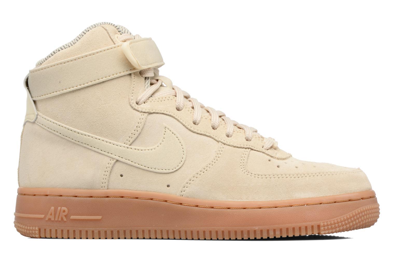 Sneaker Nike Wmns Air Force 1 Hi Se weiß ansicht von hinten