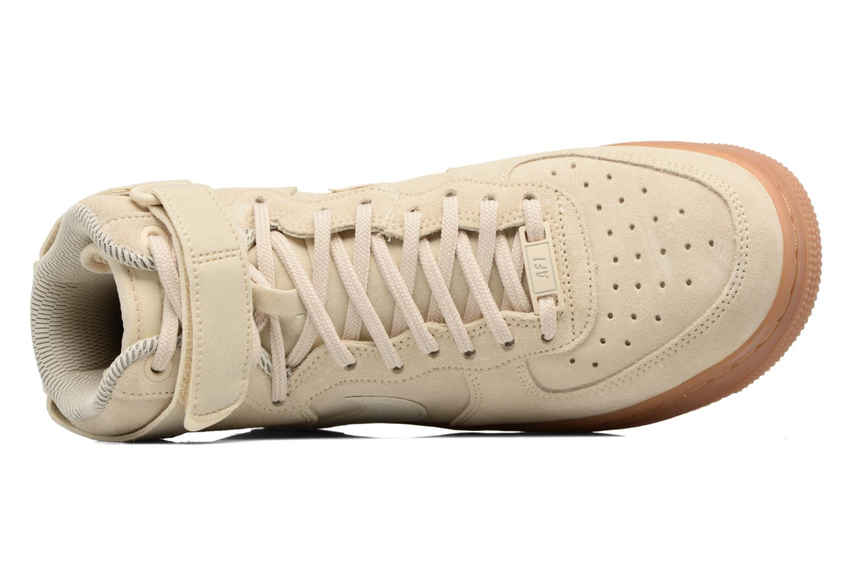 Sneaker Nike Wmns Air Force 1 Hi Se weiß ansicht von links