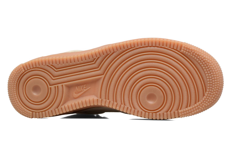 Sneaker Nike Wmns Air Force 1 Hi Se weiß ansicht von oben