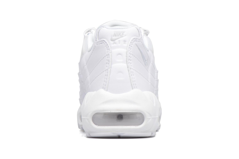Wmns Air Max 95 White/White-Pure Platinum AH17