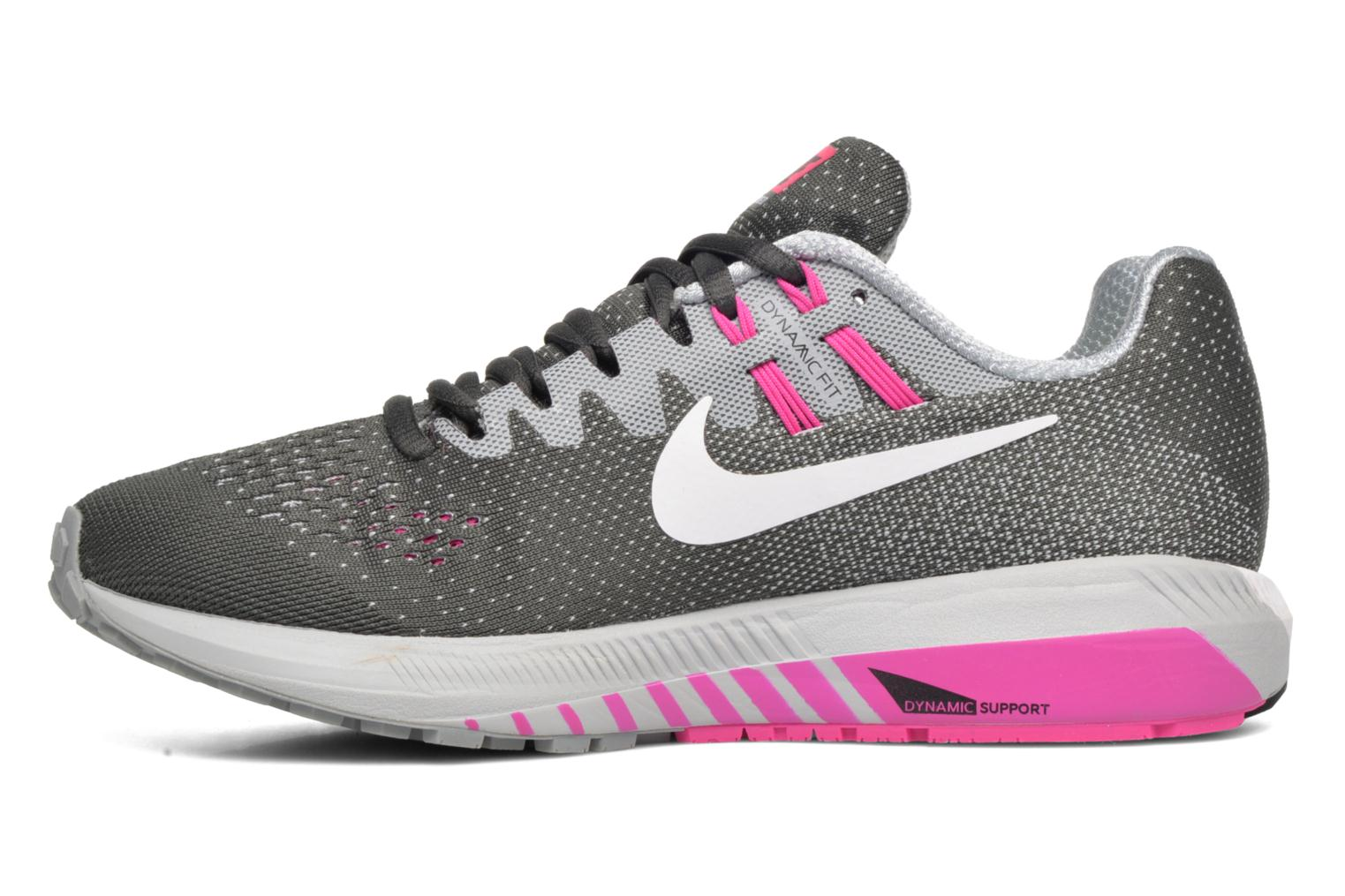 Sport shoes Nike Wmns Air Zoom Structure 20 Grey front view