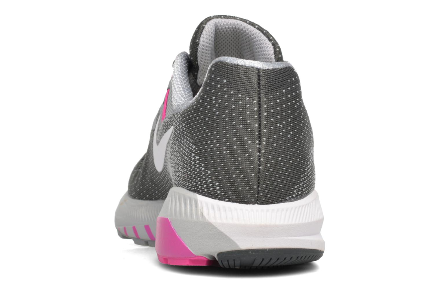 Sport shoes Nike Wmns Air Zoom Structure 20 Grey view from the right