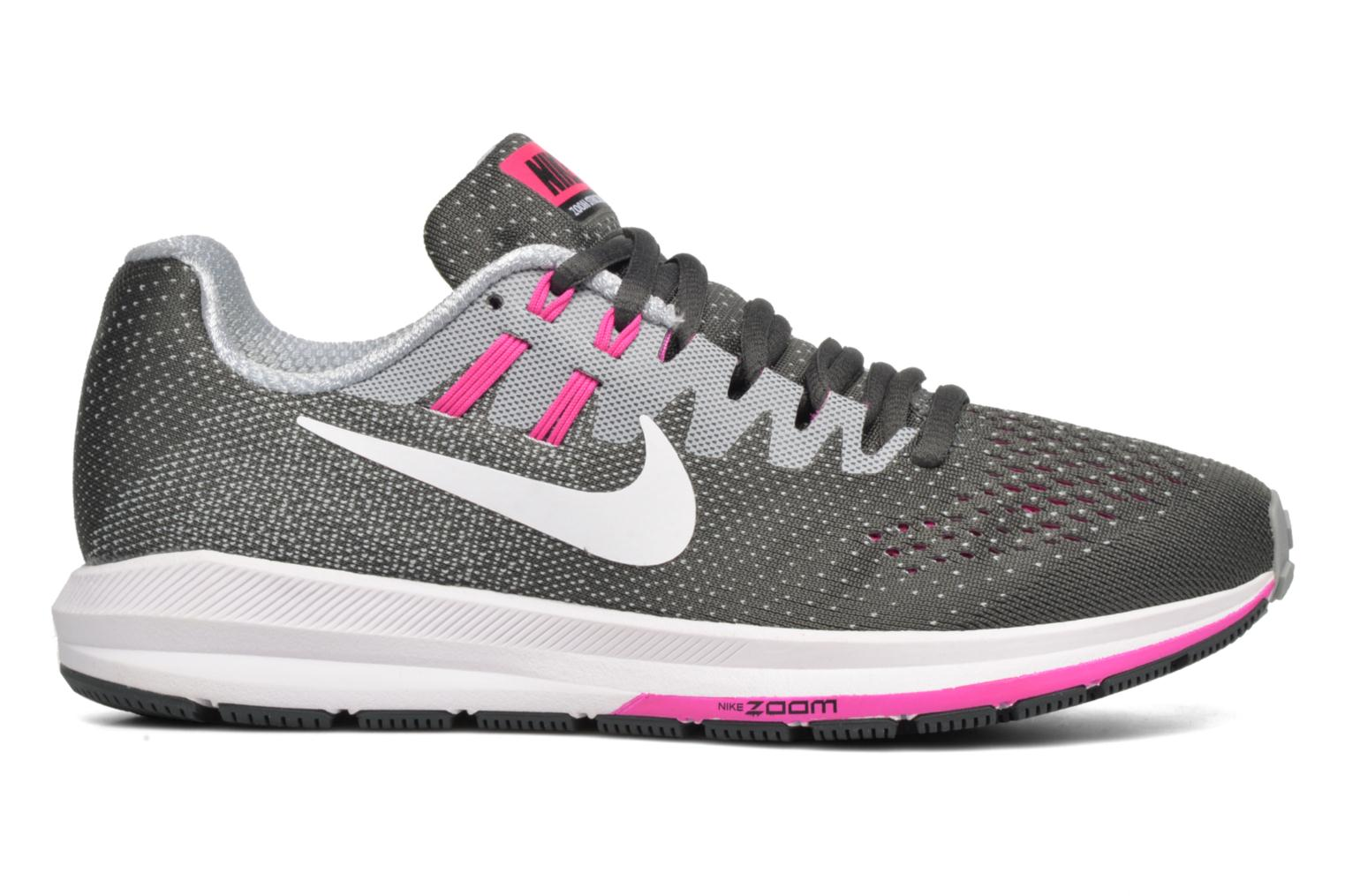Sport shoes Nike Wmns Air Zoom Structure 20 Grey back view