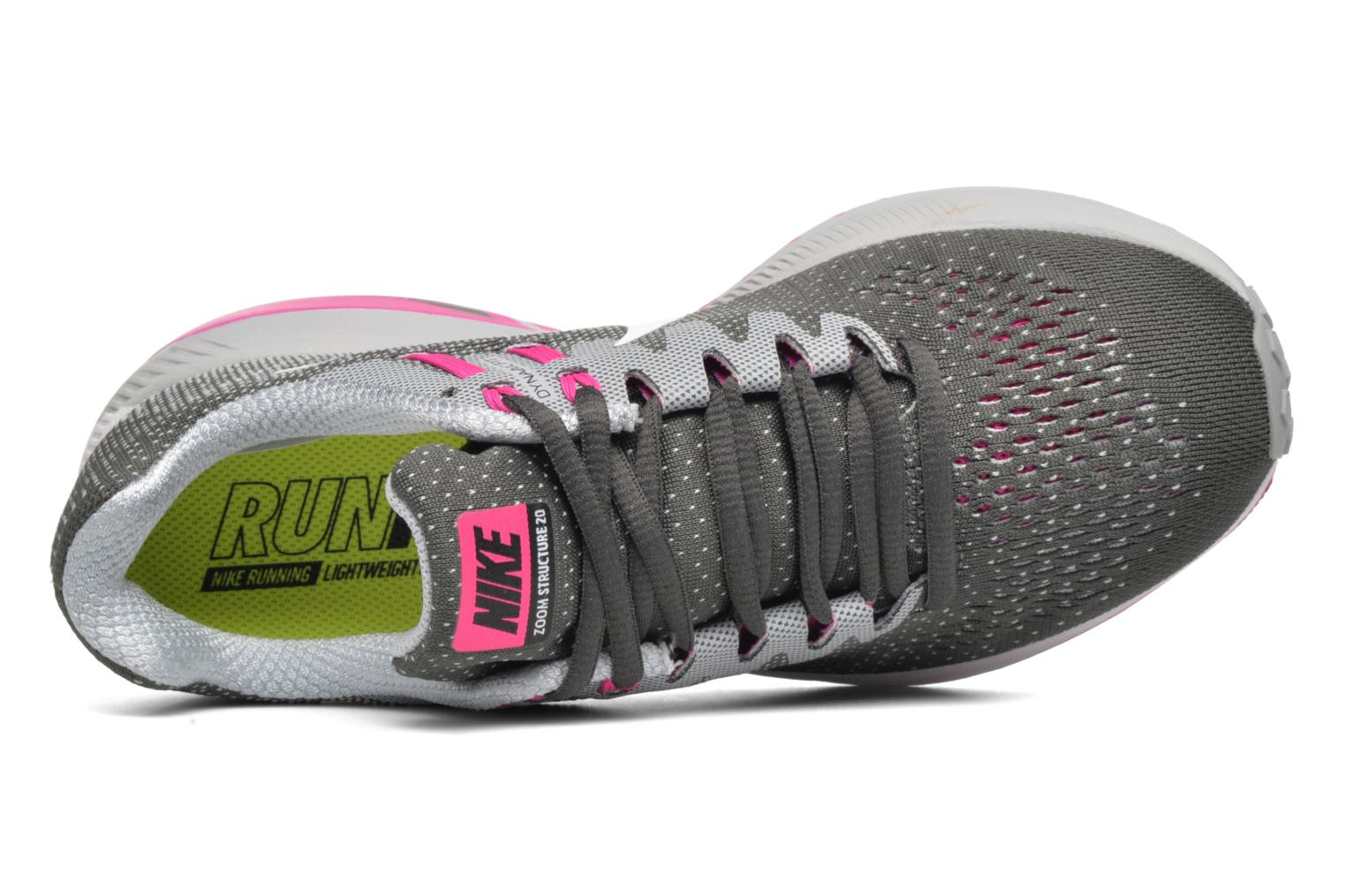 Sport shoes Nike Wmns Air Zoom Structure 20 Grey view from the left