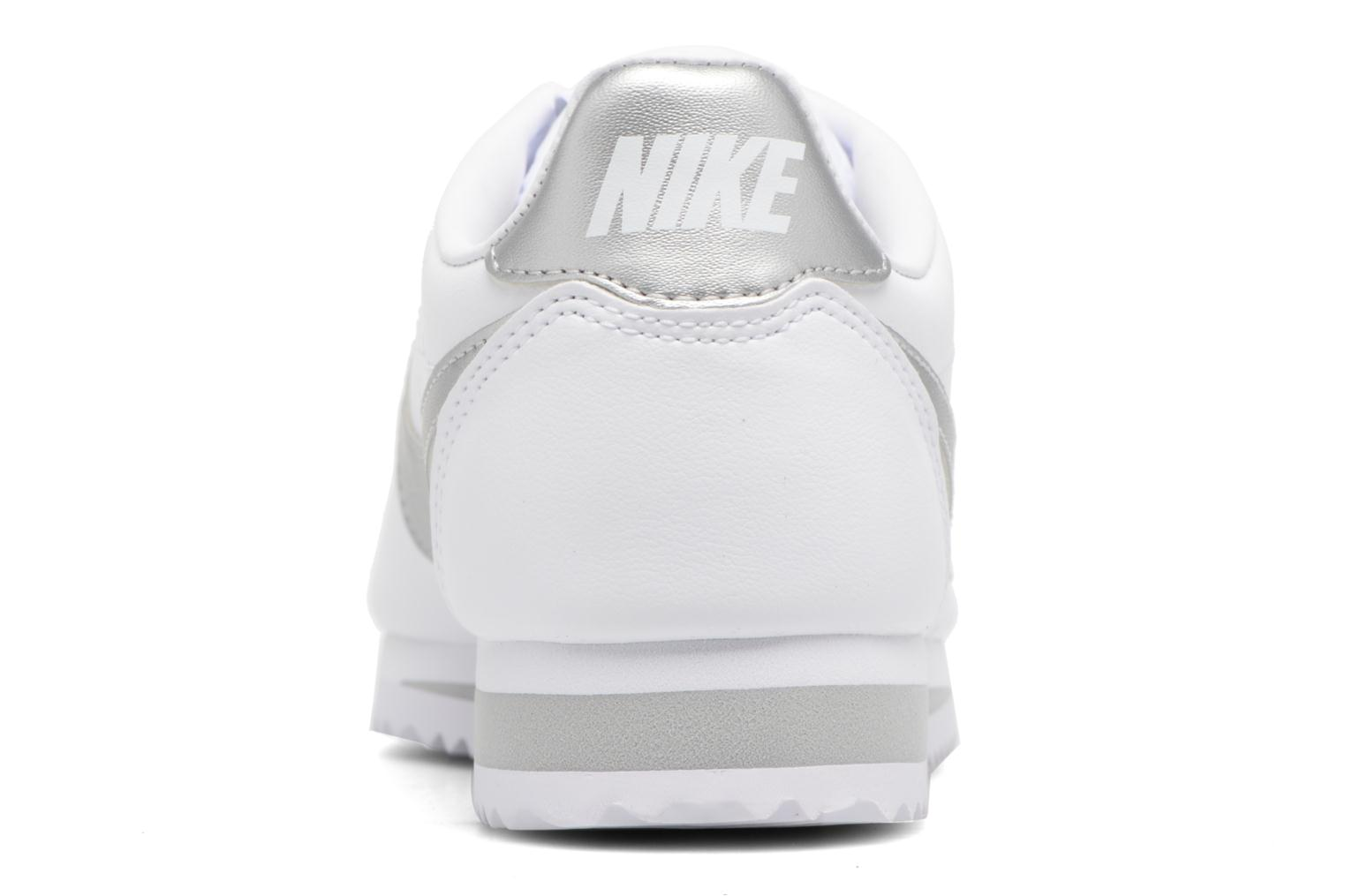Trainers Nike Wmns Classic Cortez Leather Grey view from the right