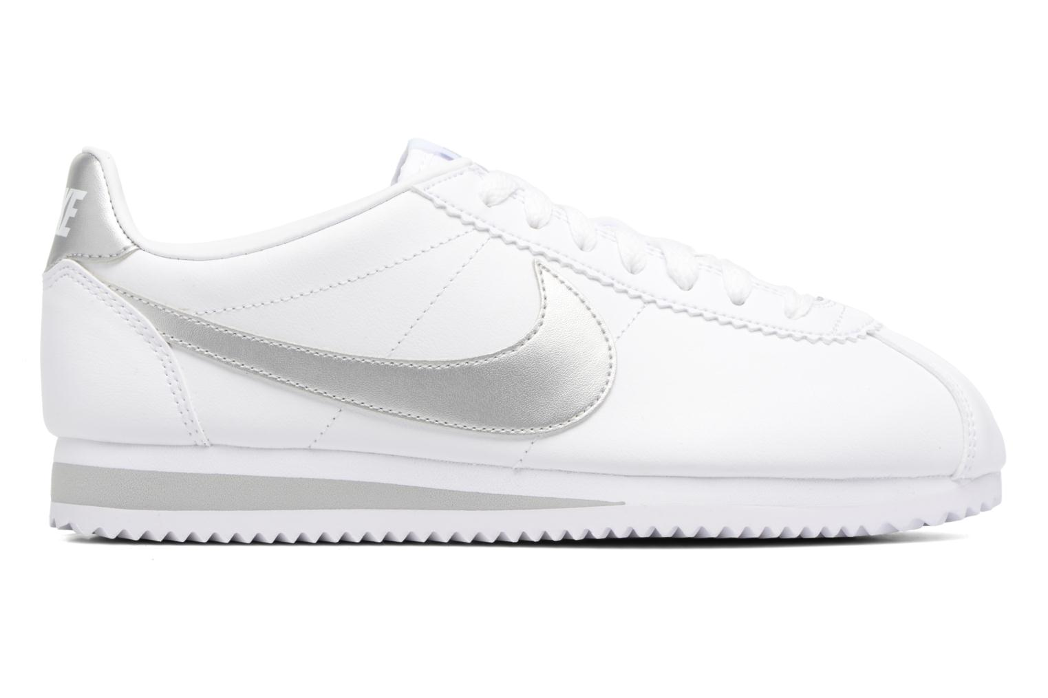 Trainers Nike Wmns Classic Cortez Leather Grey back view