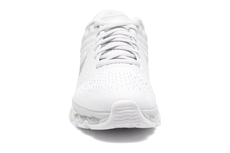 Chaussures de sport Nike Wmns Nike Air Max 2017 Gris vue portées chaussures