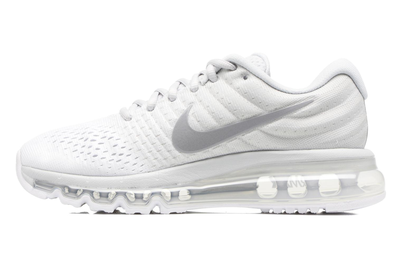 Wmns Nike Air Max 2017 PURE PLATINUM/WOLF GREY-WHITE-OFF WHITE