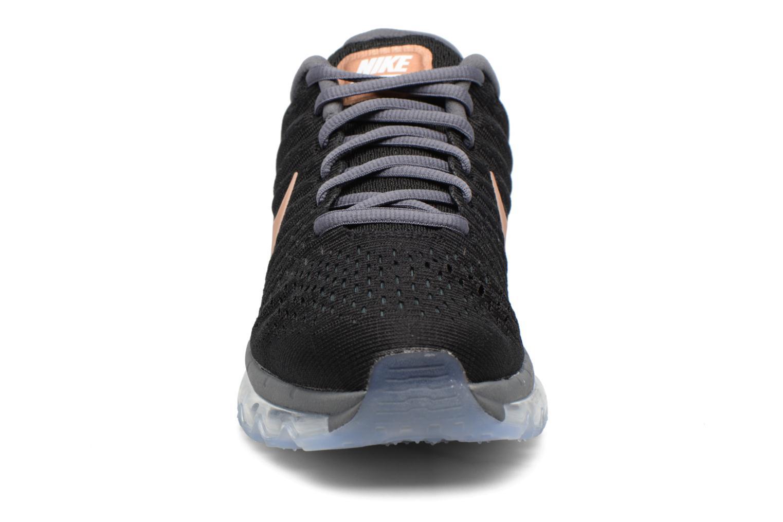Wmns Nike Air Max 2017 Black/Mtlc Red Bronze-Dark Grey