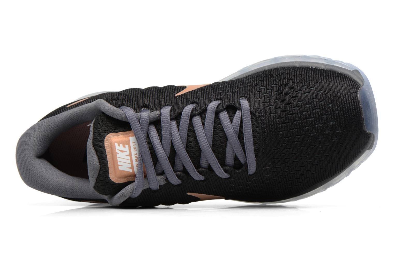Sportschuhe Nike Wmns Nike Air Max 2017 schwarz ansicht von links