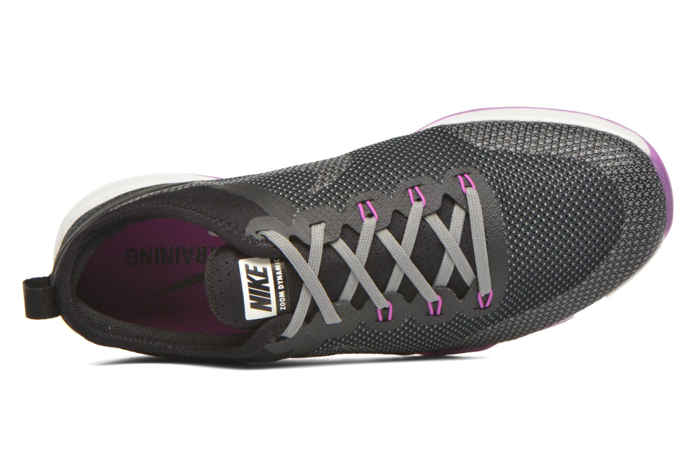 Zapatillas de deporte Nike Wmns Nike Air Zoom Tr Dynamic Negro vista lateral izquierda