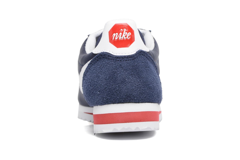 Baskets Nike Classic Cortez Nylon Prem Bleu vue droite