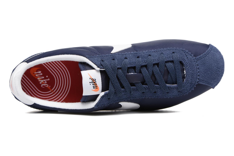 Baskets Nike Classic Cortez Nylon Prem Bleu vue gauche